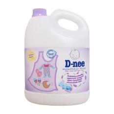 Nước giặt quần áo Dnee cho trẻ em 3000ml (Màu tím - Hàng công ty)