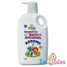 Giá Bán Nước Rửa Binh Sữa Kodomo 750Ml Thai Lan Dạng Chai Nguyên