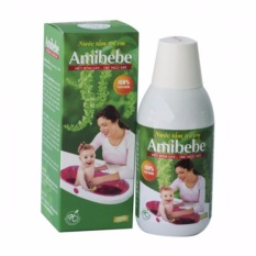 Bán Nước Tắm Thảo Dược Trẻ Em Amibebe 250Ml Phong Rom Sảy Ánh Minh Nguyên