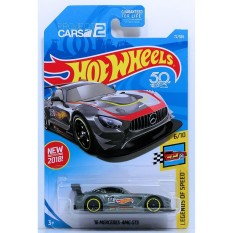 Mua O To Mo Hinh Tỉ Lệ 1 64 Hot Wheels 2018 16 Mercedes Amg Gt3 Mau Đen Rẻ