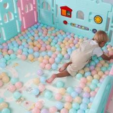 Hình ảnh Ocean Ball Wave Ball 6.5cm Macarons Color Ball Baby Baby Toy Ball Thickening Ocean Ball