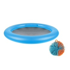 Hình ảnh OH 2 pcs Dishes Balls Frisbee Toy Sports Fun Game Interactive Flying Disk Blue - intl