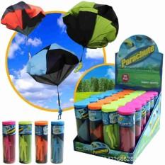 Hình ảnh Outdoor Kids Tangle Free Toy Parachute Hand Throw Kite Fly High no batteries - intl