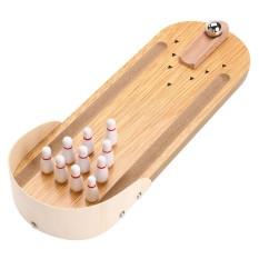 Hình ảnh P-TOP Mini Để Bàn Trò Chơi Bowling Trẻ Em Phát Triển Đồ Chơi Trang Trí Bé Nhà Giải Trí Tương Tác Đồ Chơi Quà Tặng-intl