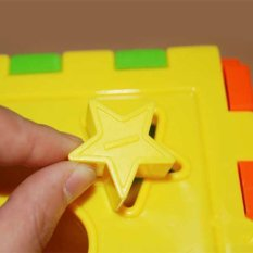 Hình ảnh PAlight Kid Matching Toy Bricks Matching Blocks Baby Intelligence Educational Sorting Box Toy - intl