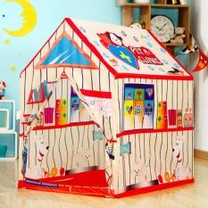 Hình ảnh READY STOCK Thú cưng của Phòng Khám Hoa Văn Lều Vui Chơi Trẻ Em Di Động Lều-quốc tế