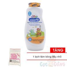 Phấn Chống Côn Trùng Kodomo 180g - Protection (cam) Tặng 1 Gói Tăm Bông đầu Nhỏ - Phan Chong Con Trung By Shop Baby Chick.