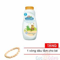 Phấn chống côn trùng Kodomo 180g - Protection (cam) TẶNG 1 vòng đeo tay dâu tằm cho trẻ