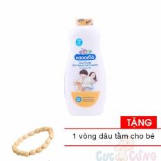 Phấn Chống Côn Trùng Kodomo 400g - Protection (cam) TẶng 1 Vòng đeo Tay Dâu Tằm Cho Trẻ By Shop Baby Chick.