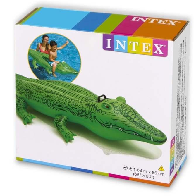 Hình ảnh Phao bơi hình cá sấu Intex 58546