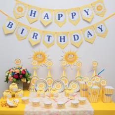 Hình ảnh Phụ kiện trang trí sinh nhật ÔNG MẶT TRỜI