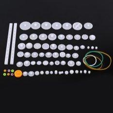 Hình ảnh Bánh Răng nhựa Ròng Rọc Dây Con Sâu Bộ Dụng Cụ Thái Vát Gear Bộ Đồ Chơi TỰ LÀM Phần (75 loại)-quốc tế