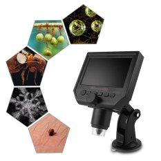 Hình ảnh Di động MÀN HÌNH LCD Kính Hiển Vi Kỹ Thuật Số 4.3 ''HD OLED 3.6MP 1-600X Độ Phóng Đại G600-quốc tế