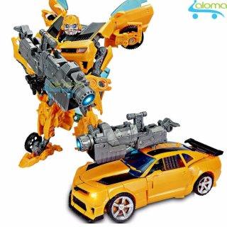 Robot biến hình ôtô Transformer cao 20cm mẫu Bumble Bee thumbnail