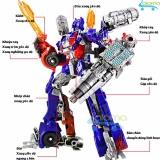 Robot Biến Hinh Oto Transformer Cao 20Cm Mẫu Optimus Prime Hà Nội Chiết Khấu 50