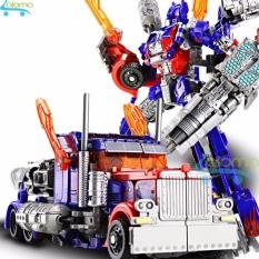 Hình ảnh Robot biến hình ôtô Transformer cao 22cm mẫu Optimus Prime 6699-7