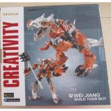 Ôn Tập Robot Biến Hinh Transformer Grimlock Dinosaur J8008 Cao 23 Cm Tặng Đầu Tau Đẩy Tay Kidskingdom