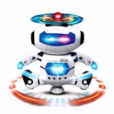 Hình ảnh Robot Biết Nhảy Và Hát Xoay 360 Độ (Trắng)