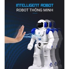 Hình ảnh Robot Điều Khiển Thông Minh, Cảm Ứng Cử Chỉ, Nhảy , Múa , Hát, Kể Chuyện, Nói Tiếng Anh, Tiến, Lùi, Rẽ Trái- Phải