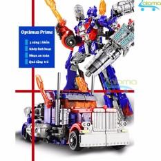 Hình ảnh Robot Transformer lắp ráp thành ôtô cao 22cm mẫu Optimus Prime