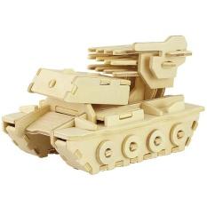 Hình ảnh Robotime Phóng Tên Lửa 3D Đồ Chơi Xếp Hình Bằng Gỗ Môi Trường Lắp Ráp Đồ Chơi Trò Chơi Giáo Dục (Vàng)-quốc tế (Vàng)