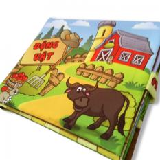 Hình ảnh Sách vải cho bé chơi mà học Pipo - Động vật