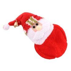 Hình ảnh Ông Già Noel Cúp Lót Placemats Nhà Trang Trí Tiệc Nhiệt Miếng Lót Giáng Sinh Đế Lót Ly-quốc tế