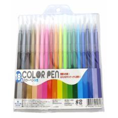 Hình ảnh Set 18 bút dạ màu- Hàng Nhật nội địa