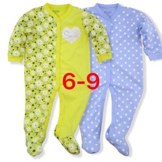 Set 2 Bộ Body Dài Tay Liền Tất Baby Gear Hàng Xuất Dư Đẹp Cho Bé Trai thumbnail