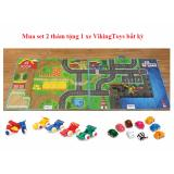 Bán Set 2 Thảm Vikingtoys Tặng Kem Xe Vikingtoys Cho Be Viking Toys Người Bán Sỉ