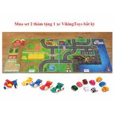 Set 2 Thảm Vikingtoys Tặng Kem Xe Vikingtoys Cho Be Viking Toys Chiết Khấu 50
