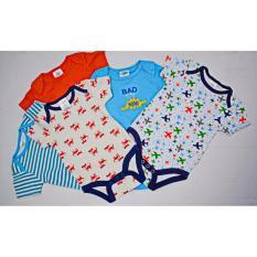 Giá Bán Set 5 Body Suit Cho Be Trai Babi Mocha Rẻ
