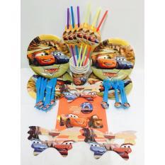 Hình ảnh Set trang trí sinh nhật hình Ô tô