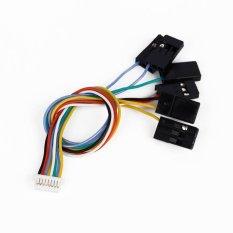 Hình ảnh Silicone 6 in 1 Flight Controller Cable Set 8 Pin For Mini CC3D Standard CC3D - intl