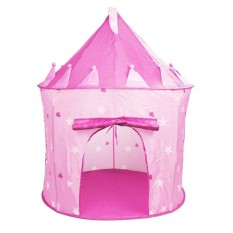 Hình ảnh SOBUY Outdoor Indoor Ger Fairy Tale Castle Princess Play Tent Kids Pink Playhouse Gifts,Pink - intl