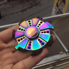 Hình ảnh Con quay Fidget Spinner Turbin RainBow - Con Quay giúp bạn tăng Tập Trung, xả Strees