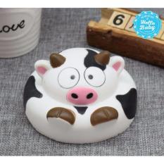Squishy - Bánh bò sữa (10x6cm) / Hello Baby