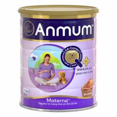 Ôn Tập Sữa Ba Bầu Anmum Materna Hương Socola Hộp 800G Danh Cho Ba Mẹ Mang Thai Va Cho Con Bu