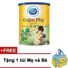 Cửa Hàng Sữa Bột Dutch Lady Kham Pha Gold 1 5Kg Tặng 1 Tui Mẹ Va Be Trong Vietnam