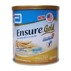 Sữa bột Ensure Gold hương lúa mạch ít ngọt 400g