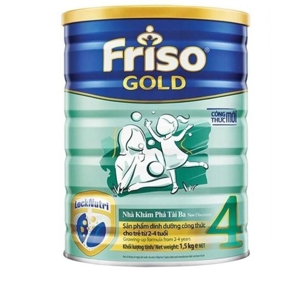 Sữa bột Friso Gold 4 1500g