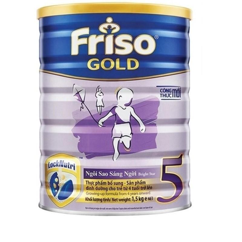 Sữa bột Friso Gold 5 1500g