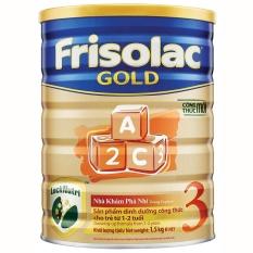 Sữa Bột Frisolac Gold 3 1500G Rẻ