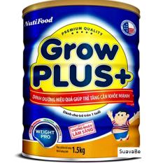 Chiết Khấu Sữa Bột Nuti Grow Plus 1 5Kg Xanh Nutifood Trong Bình Dương