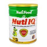 Bán Sữa Bột Nuti Iq 3 900G Gianh Cho Em Be 12 24 Thang Nutifood Nguyên
