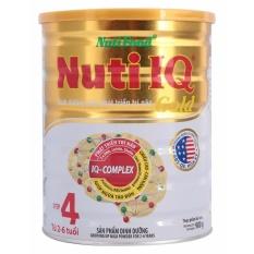 Bán Sữa Bột Nutifood Iq Gold Step 4 Hộp 900G Có Thương Hiệu Rẻ