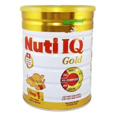 Ôn Tập Trên Sữa Bột Nutifood Nuti Iq Gold Step 1 900G