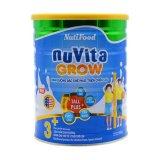 Giá Bán Rẻ Nhất Sữa Bột Nutifood Nuvita Grow 3 900G 500Ml 1 Lit