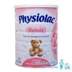 Sữa Bột Physiolac Số 2 Relais Hộp 900G Cho Be 6 12 Thang Tuổi Mới Nhất
