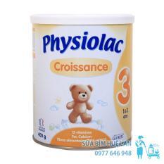 Bán Mua Trực Tuyến Sữa Bột Physiolac Số 3 Croissance Hộp 400G Cho Be 1 3 Tuổi